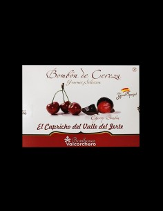 Bombones de Cereza y Chocolate Puro Caprichos del Valle del Jerte