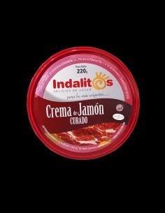 Crema de jamón curado Indalitios