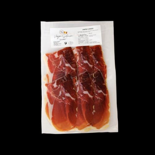 Bolsa de jamón serrano reserva 150 gr.