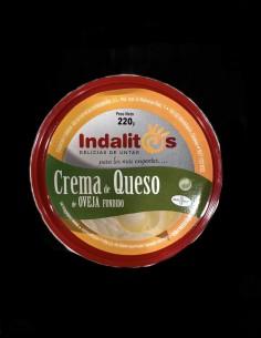 Crema de queso de oveja fundido - Indalitos